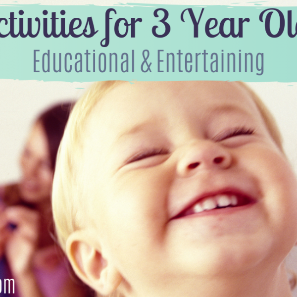 6 Preschool Activities for 3 Year Olds