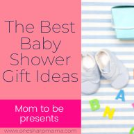 My top 10 favorite baby shower gifts