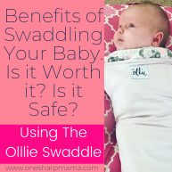 Benefits of Swaddling Baby with The Ollie Swaddle