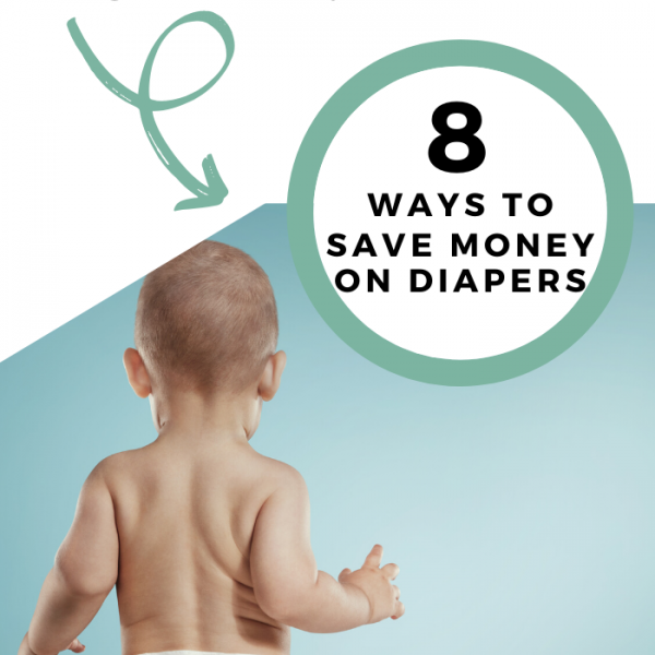 8 ways to save money on diapers