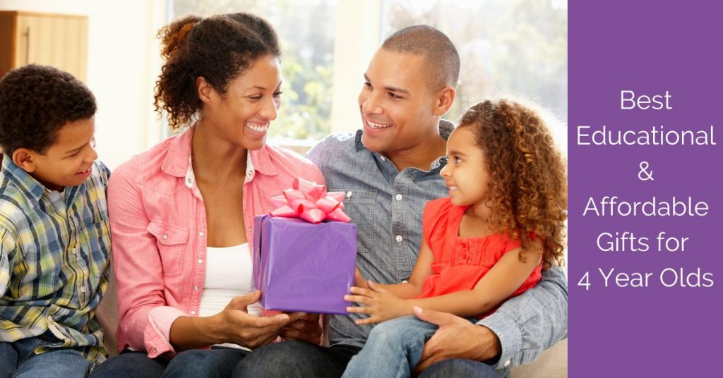 Educational and Affordable Gift Ideas for 4 year olds