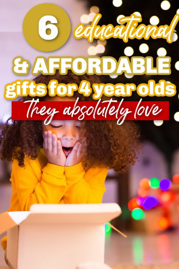 affordable gifts for 4 year olds