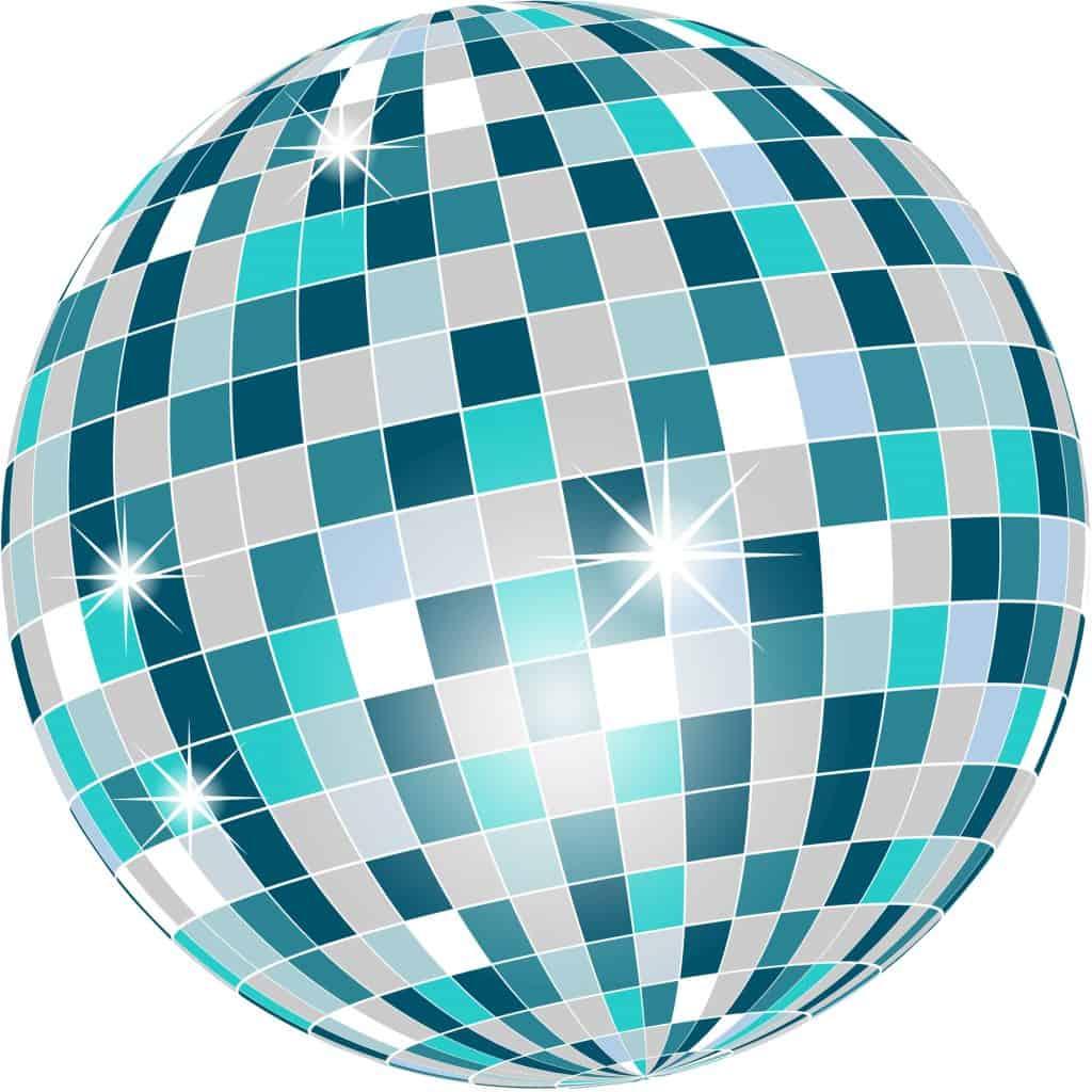 Glitter ball.