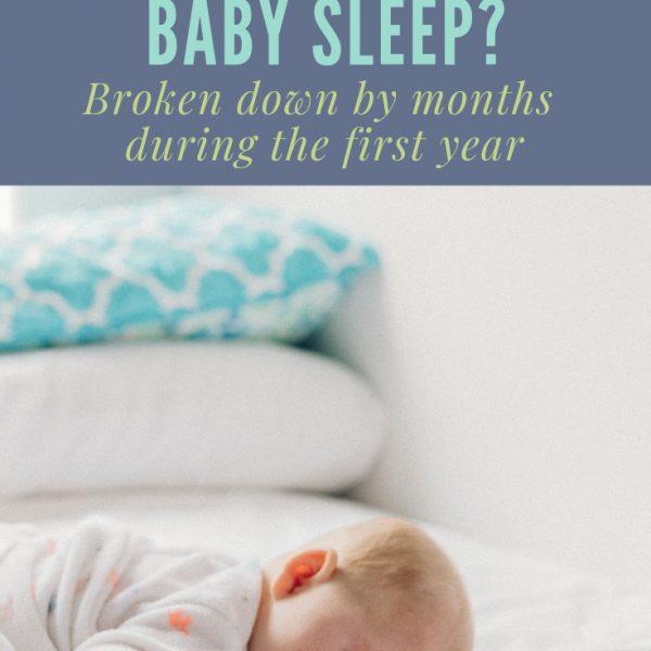 Baby's First Year – Sleep Schedule Ideas