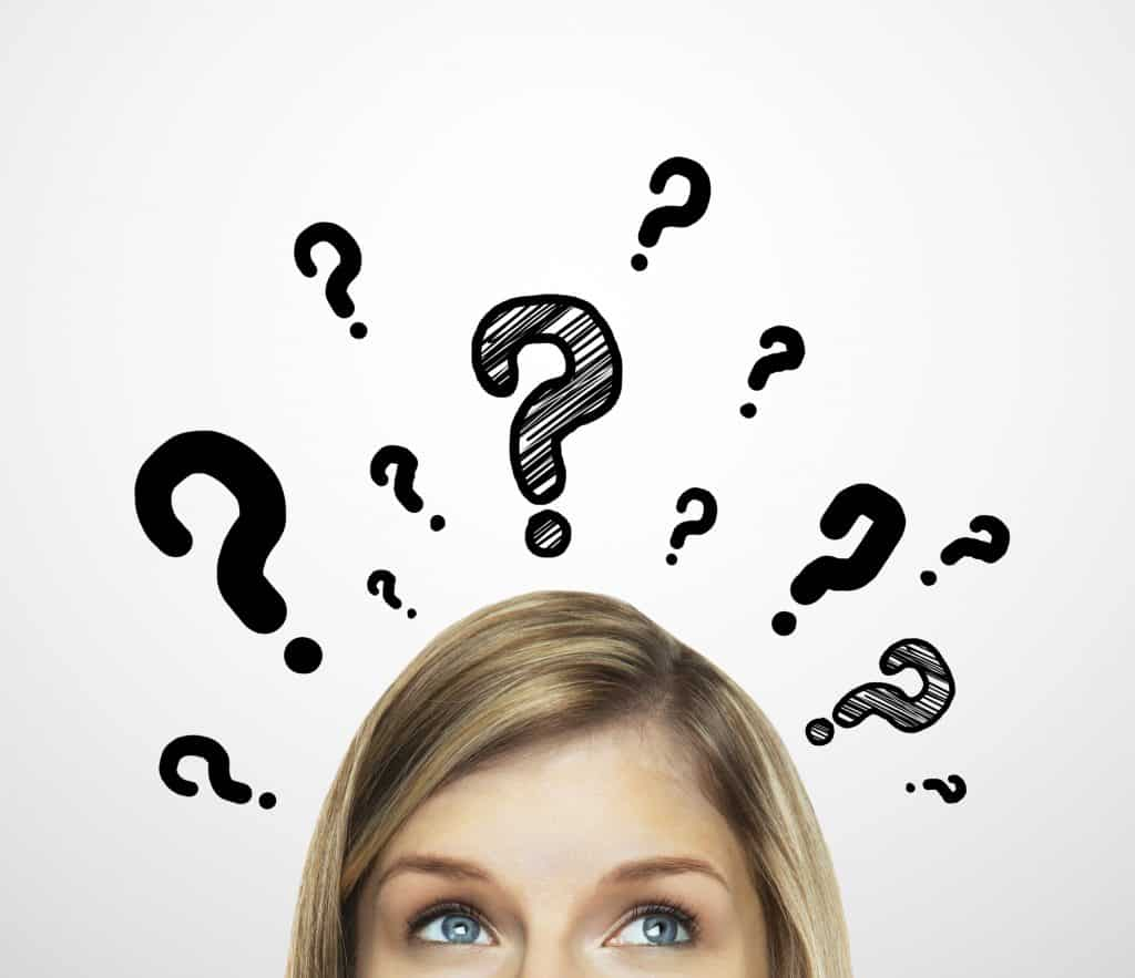 IVF questions - question marks.