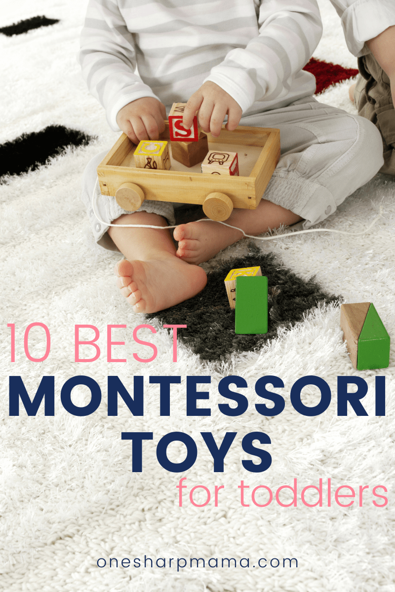 Ten best Montessori toys for toddlers.