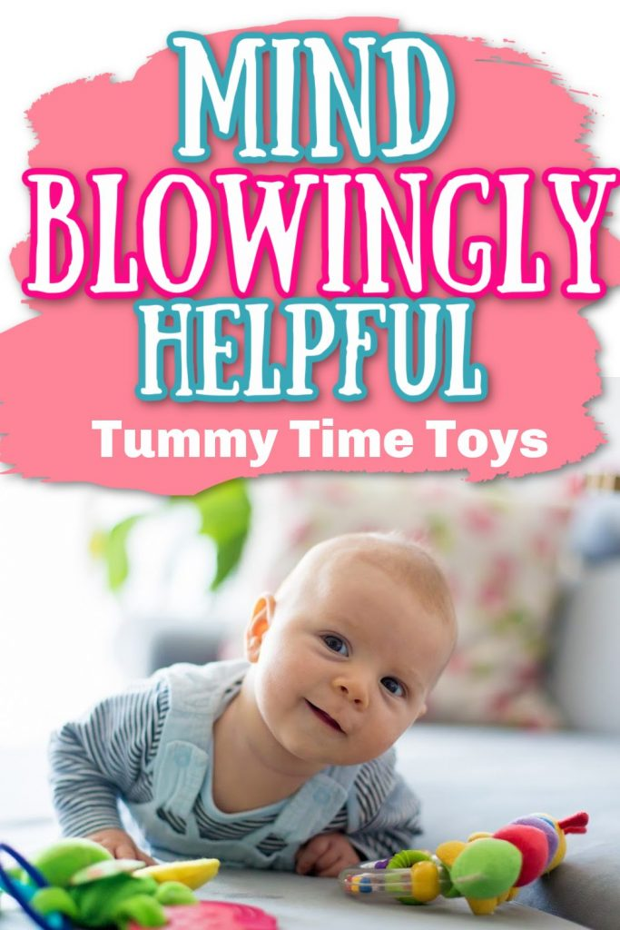 tummy time tips and toys