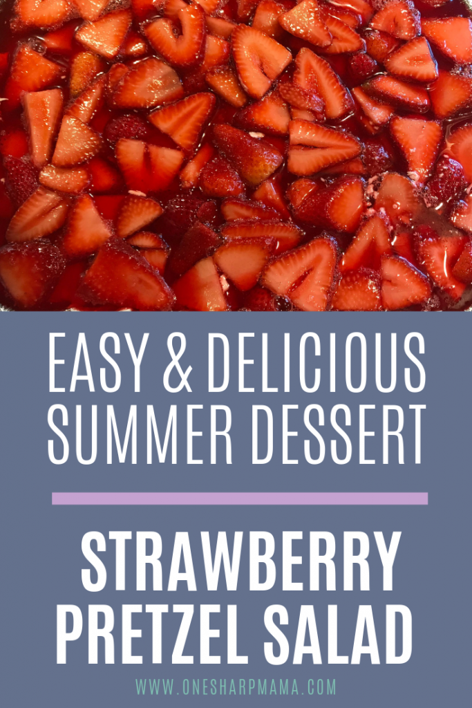 the most delicious, creamy and crunchy summer dessert This is the perfect potluck dessert and summer dessert idea to bring to your next pool party or bbq. #dessert #poolparty #summerdessert