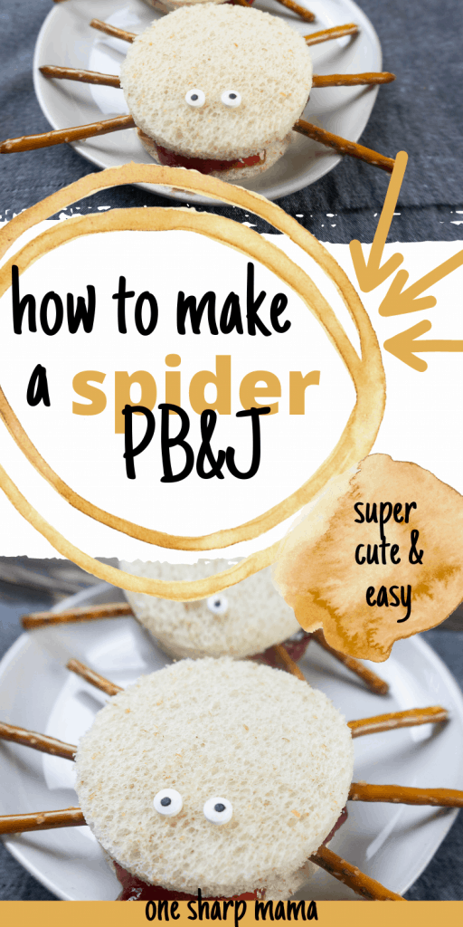 Pin image for PB & J spiders sandiwches