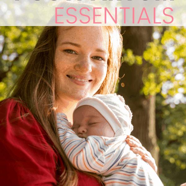 Best Postpartum Supplies And Essentials