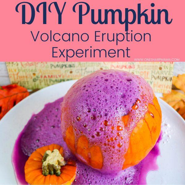 Pumpkin Volcano DIY