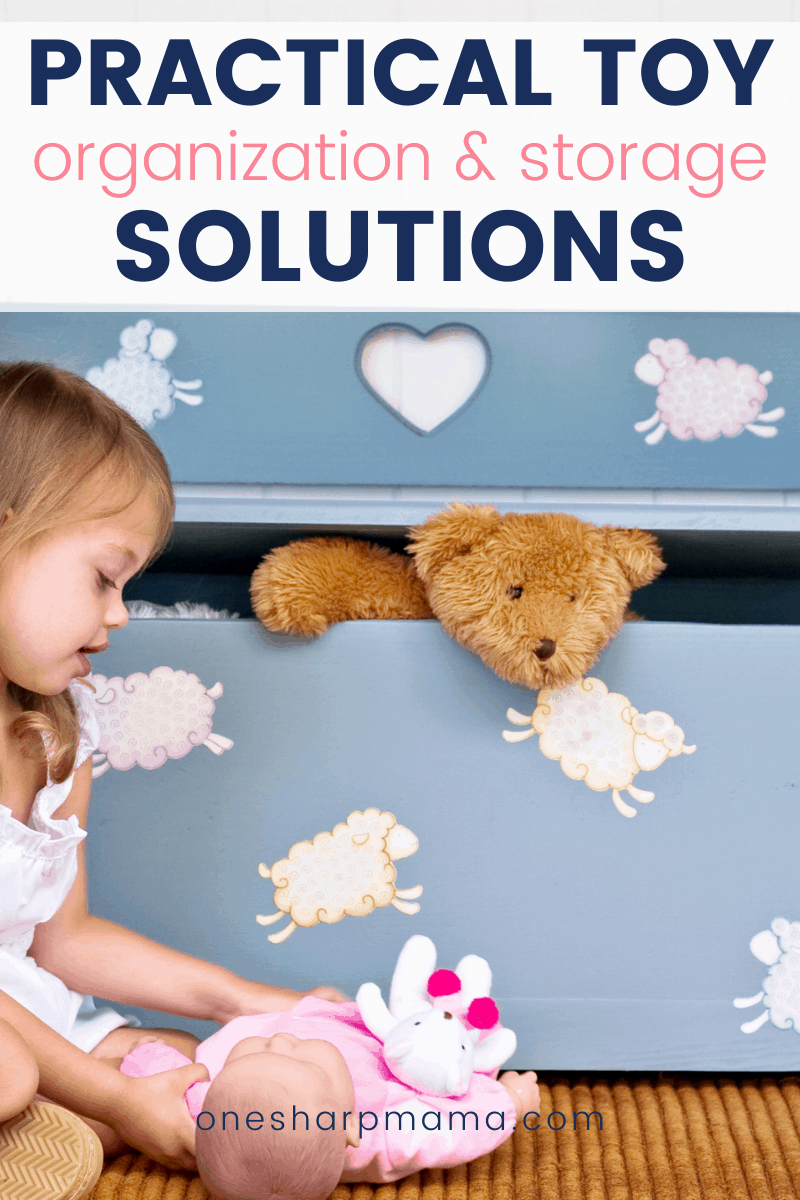 Practical toy organization and storage solutions.
